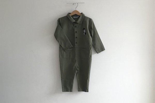<img class='new_mark_img1' src='//img.shop-pro.jp/img/new/icons14.gif' style='border:none;display:inline;margin:0px;padding:0px;width:auto;' />19aw One We Like Fox Burnt Olive Boiler  Suit