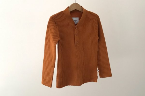 <img class='new_mark_img1' src='//img.shop-pro.jp/img/new/icons14.gif' style='border:none;display:inline;margin:0px;padding:0px;width:auto;' />20ss REPOSE.AMS Knit sweater warmed rust