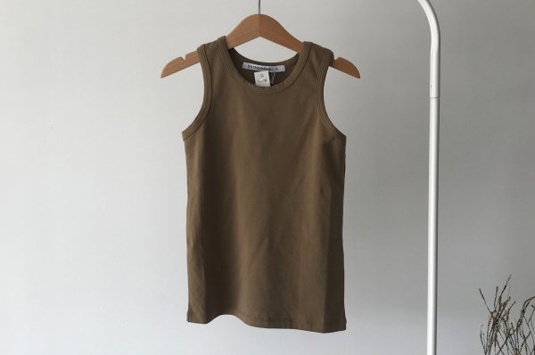 <img class='new_mark_img1' src='//img.shop-pro.jp/img/new/icons16.gif' style='border:none;display:inline;margin:0px;padding:0px;width:auto;' />40%off 20ss MINGO Singlet  oak