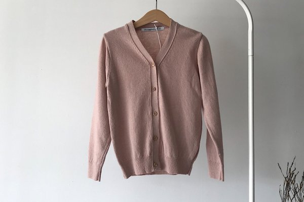 <img class='new_mark_img1' src='//img.shop-pro.jp/img/new/icons16.gif' style='border:none;display:inline;margin:0px;padding:0px;width:auto;' />40%off 20ss MINGO Cardigan Dusty pink