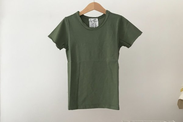 <img class='new_mark_img1' src='//img.shop-pro.jp/img/new/icons14.gif' style='border:none;display:inline;margin:0px;padding:0px;width:auto;' />CO LABEL Short Sleeved T-shirt Green