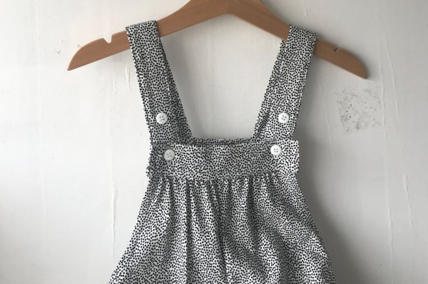 <img class='new_mark_img1' src='//img.shop-pro.jp/img/new/icons34.gif' style='border:none;display:inline;margin:0px;padding:0px;width:auto;' />70%off 18ss MINGO Dots Romper