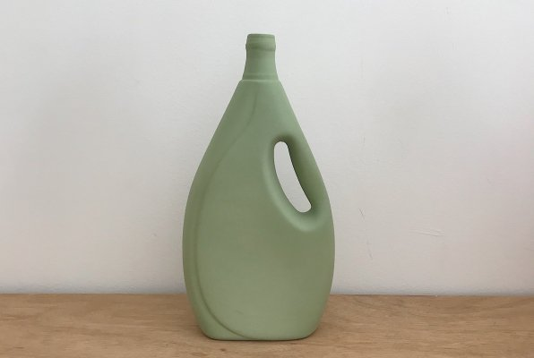 <img class='new_mark_img1' src='//img.shop-pro.jp/img/new/icons14.gif' style='border:none;display:inline;margin:0px;padding:0px;width:auto;' />Foekje Fleur porcelain bottle vase #7 dark green