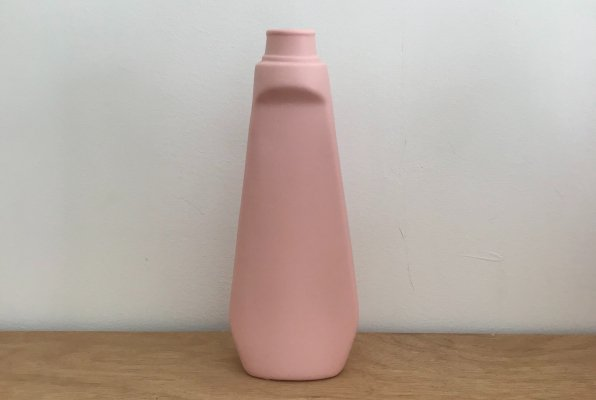 <img class='new_mark_img1' src='https://img.shop-pro.jp/img/new/icons14.gif' style='border:none;display:inline;margin:0px;padding:0px;width:auto;' />Foekje Fleur porcelain bottle vase #4 pink