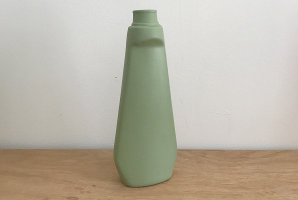 <img class='new_mark_img1' src='//img.shop-pro.jp/img/new/icons14.gif' style='border:none;display:inline;margin:0px;padding:0px;width:auto;' />Foekje Fleur porcelain bottle vase #4 dark green