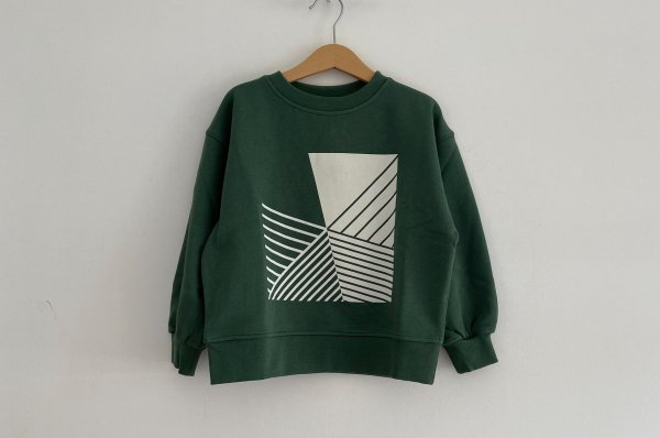 <img class='new_mark_img1' src='//img.shop-pro.jp/img/new/icons14.gif' style='border:none;display:inline;margin:0px;padding:0px;width:auto;' />AW20 main story  Oversized Sweatshirt / Duck Green