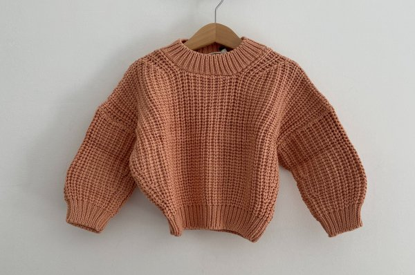 <img class='new_mark_img1' src='https://img.shop-pro.jp/img/new/icons16.gif' style='border:none;display:inline;margin:0px;padding:0px;width:auto;' />50%off summer&storm  chunky pullover  / coral