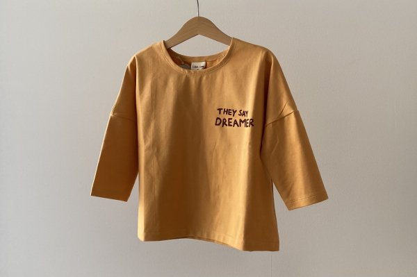 <img class='new_mark_img1' src='https://img.shop-pro.jp/img/new/icons16.gif' style='border:none;display:inline;margin:0px;padding:0px;width:auto;' />40%off  Like lou Longsleeve Tee / Yellow