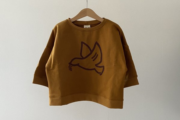 <img class='new_mark_img1' src='https://img.shop-pro.jp/img/new/icons16.gif' style='border:none;display:inline;margin:0px;padding:0px;width:auto;' />40%off  Like lou  Sweatshirt /  Golden Dove