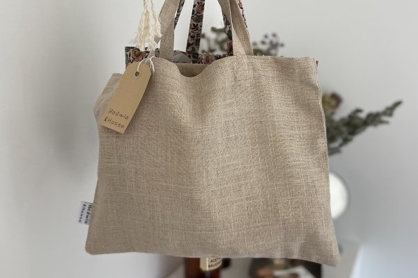 <img class='new_mark_img1' src='https://img.shop-pro.jp/img/new/icons14.gif' style='border:none;display:inline;margin:0px;padding:0px;width:auto;' />Hedwig&Hasse Tote Bag / Natural Linen