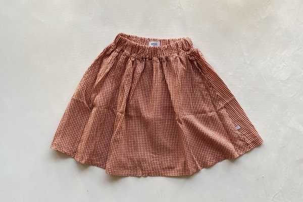 <img class='new_mark_img1' src='https://img.shop-pro.jp/img/new/icons14.gif' style='border:none;display:inline;margin:0px;padding:0px;width:auto;' />21SS Repose.AMS Midi Skirt / Copper Check