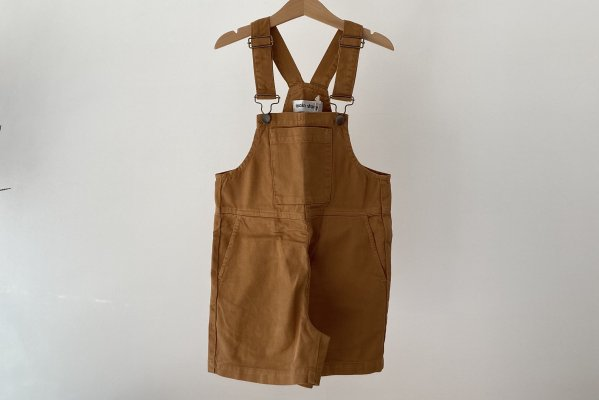 <img class='new_mark_img1' src='https://img.shop-pro.jp/img/new/icons55.gif' style='border:none;display:inline;margin:0px;padding:0px;width:auto;' />21SS Main Story Wide Slouchy Fit Dungaree / Cinnamon