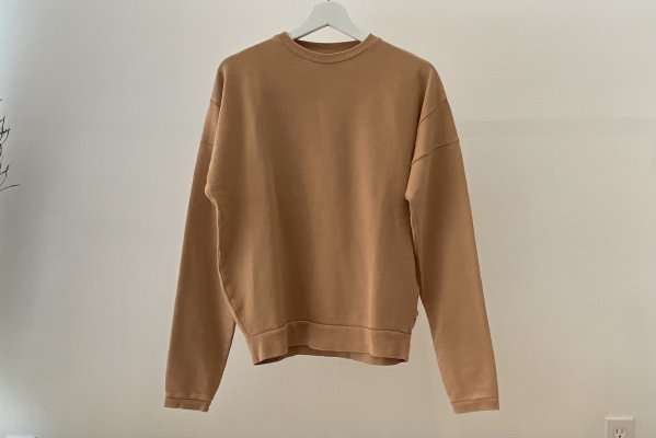<img class='new_mark_img1' src='https://img.shop-pro.jp/img/new/icons14.gif' style='border:none;display:inline;margin:0px;padding:0px;width:auto;' />21SS Repose.AMS  Crewneck Sweater / Latte 16Y