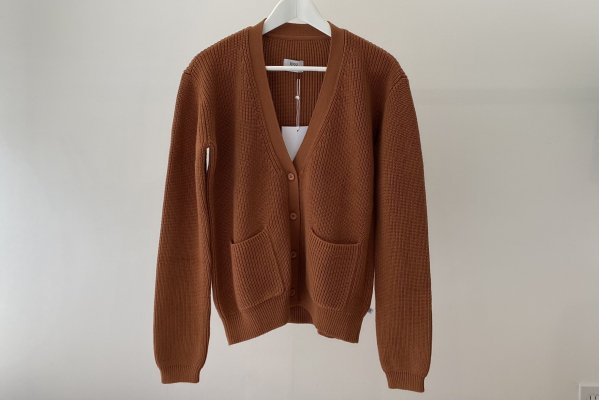 <img class='new_mark_img1' src='https://img.shop-pro.jp/img/new/icons14.gif' style='border:none;display:inline;margin:0px;padding:0px;width:auto;' />21SS Repose.AMS Knit Cardigan / Butterum 16Y