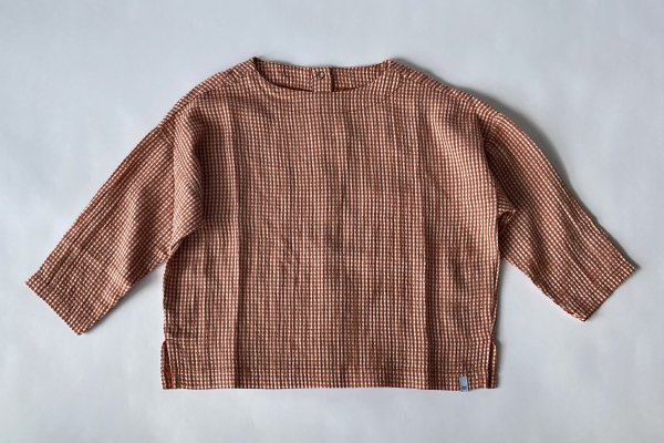 <img class='new_mark_img1' src='https://img.shop-pro.jp/img/new/icons14.gif' style='border:none;display:inline;margin:0px;padding:0px;width:auto;' />21SS Repose.AMS Woven Tee  / Copper Check