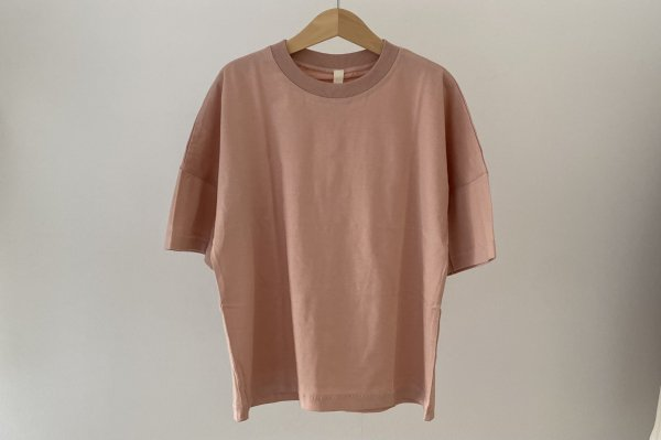 <img class='new_mark_img1' src='https://img.shop-pro.jp/img/new/icons55.gif' style='border:none;display:inline;margin:0px;padding:0px;width:auto;' />Summer&Storm Oversized Tee /  Dusty Rose 6Y