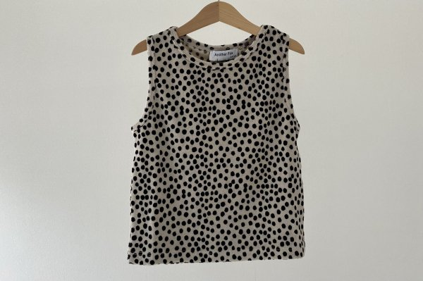 <img class='new_mark_img1' src='https://img.shop-pro.jp/img/new/icons14.gif' style='border:none;display:inline;margin:0px;padding:0px;width:auto;' />Another fox Dot Terry Towelling Kids Vest