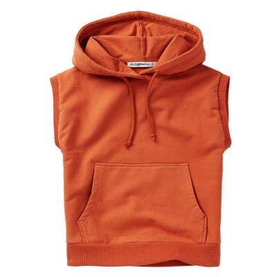 <img class='new_mark_img1' src='https://img.shop-pro.jp/img/new/icons16.gif' style='border:none;display:inline;margin:0px;padding:0px;width:auto;' />70%off MINGO 20AW Sleeveless Hoodie Light terracotta