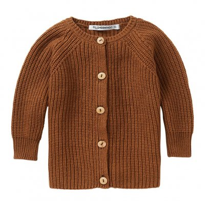 <img class='new_mark_img1' src='https://img.shop-pro.jp/img/new/icons16.gif' style='border:none;display:inline;margin:0px;padding:0px;width:auto;' />60%off MINGO 20AW Baby Cardigan Pecan