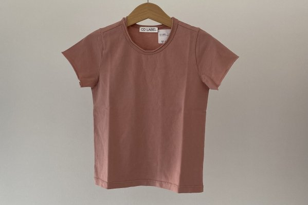 <img class='new_mark_img1' src='https://img.shop-pro.jp/img/new/icons14.gif' style='border:none;display:inline;margin:0px;padding:0px;width:auto;' />CO LABEL Short Sleeved T-shirt Ash  Rose