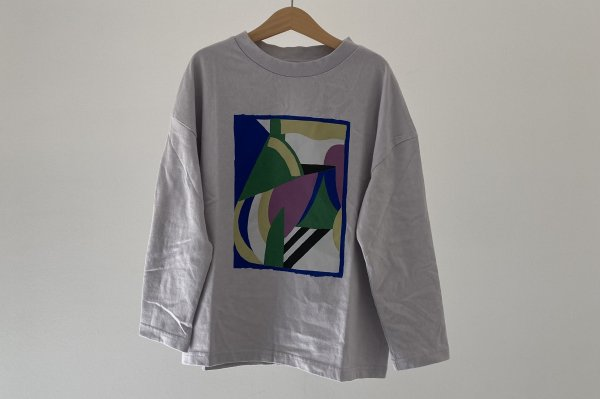 <img class='new_mark_img1' src='https://img.shop-pro.jp/img/new/icons14.gif' style='border:none;display:inline;margin:0px;padding:0px;width:auto;' />21AW Main Story LS Tee - Lilac Marble