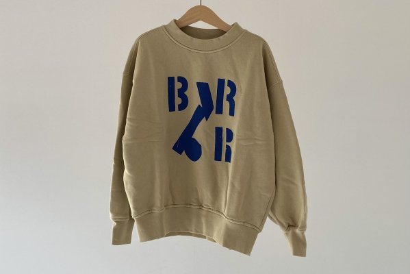 <img class='new_mark_img1' src='https://img.shop-pro.jp/img/new/icons14.gif' style='border:none;display:inline;margin:0px;padding:0px;width:auto;' />21AW Main Story Oversized Sweatshirt - Taupe