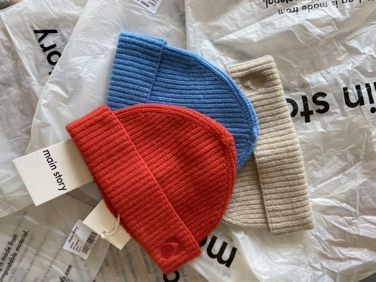 <img class='new_mark_img1' src='https://img.shop-pro.jp/img/new/icons14.gif' style='border:none;display:inline;margin:0px;padding:0px;width:auto;' />21AW Main Story Knitted Beanie