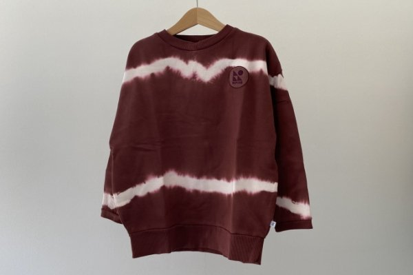 <img class='new_mark_img1' src='https://img.shop-pro.jp/img/new/icons14.gif' style='border:none;display:inline;margin:0px;padding:0px;width:auto;' />21AW Repose.AMS Crewneck sweater root brunette tie dye