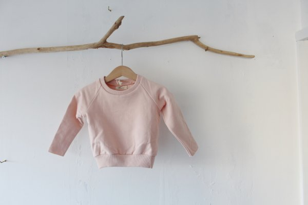 Little Hedonist Sweater Cecilia Uni Peach