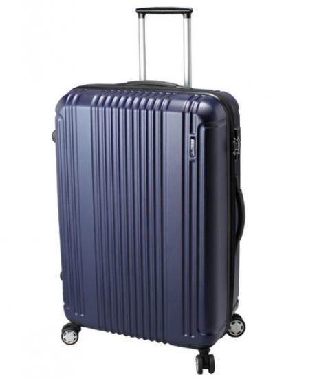 【BERMAS(バーマス)】スーツケースPrestigeⅡNo.60264 ファスナータイプ ネイビー 83L【ポイント10…