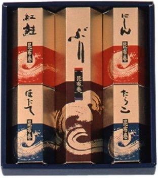 昆布巻きギフトセット「波の彩」(北海道産昆布使用) 常温商品