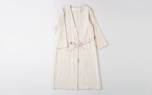 【sold out】enrica×かぐれ linenshopcoat (3color)