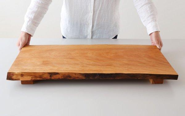 【受注製作】シュリザクラ 無垢材 ロングボード