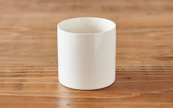 タンブラー 円柱 白