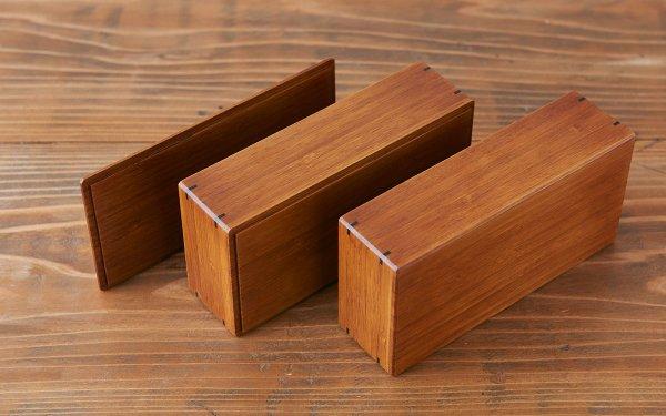 竹箱パーツ(C)|小(弁当箱)|蓋 (写真左)