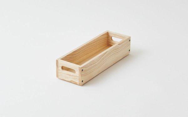 【sold out】乱れ箱 木のスタッキングボックスNo.1(名刺・カードサイズ)