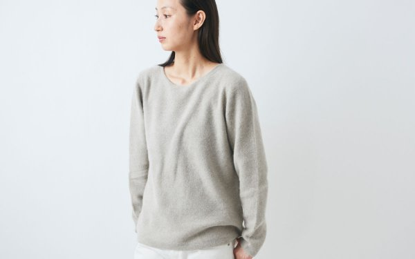 【sold out】enrica cashmere&wool knit / mocha