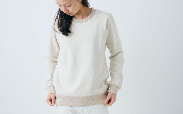 【再入荷】yohakuスウェットプルオーバー|キナリ|unisex