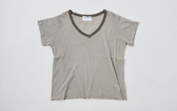 enrica cotton cutsew grey / natural dye