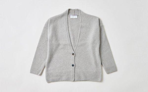 【soldout】enrica cashmere & sable cardigan / mocha