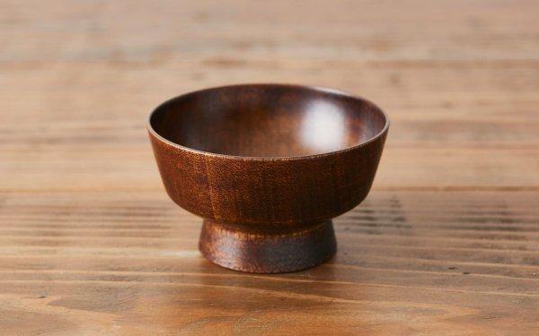 ろくろ挽きの飯椀(ミズメザクラ|拭き漆)