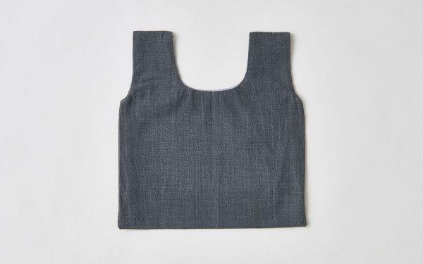 日本の布の手提げ|備後絣|節織