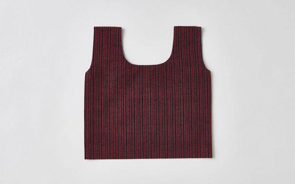日本の布の手提げ|遠州織物|冬至