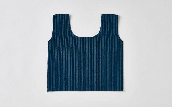日本の布の手提げ|遠州織物|雨だれ