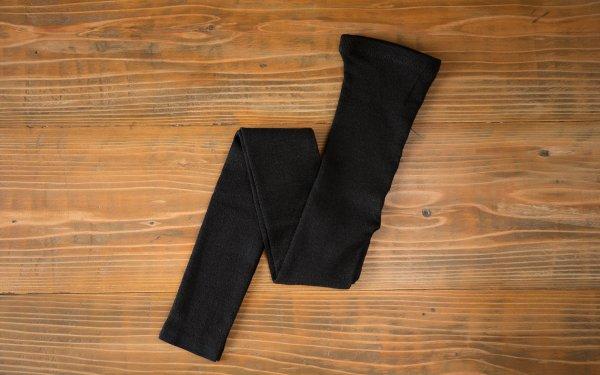 リネンニットレギンス | ブラック | 2サイズ