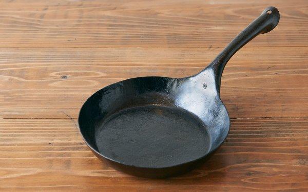 鍛冶職人の鉄のフライパン(3L)<蓋有|無>