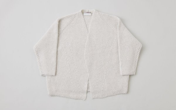 【sold out】enrica knit cardigan light grey