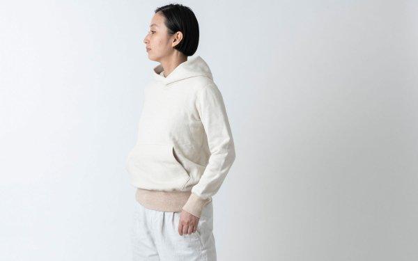 yohaku茶綿プルパーカー|キナリ|unisex