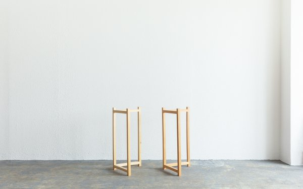 【完売欠品中】ツガのテーブル脚(2個セット)