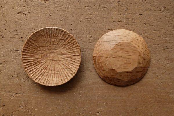 【再入荷】ハツリ小皿(ナラ|オイル・蜜蝋仕上げ)